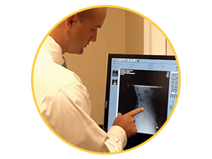 On-site digital x-ray at chiropractor pensacola