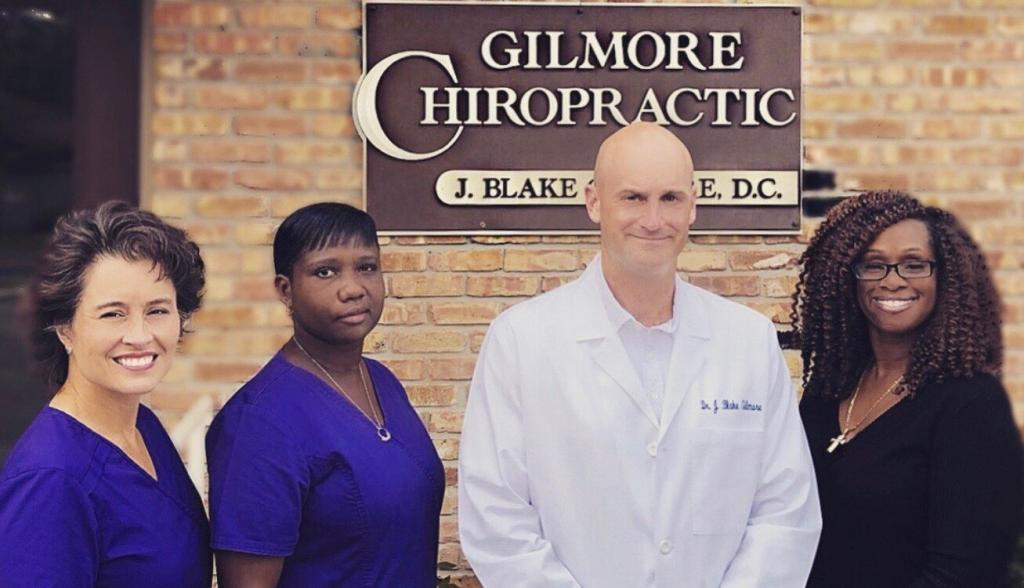 The team at Gilmore Chiropractic in Pensacola, Florida